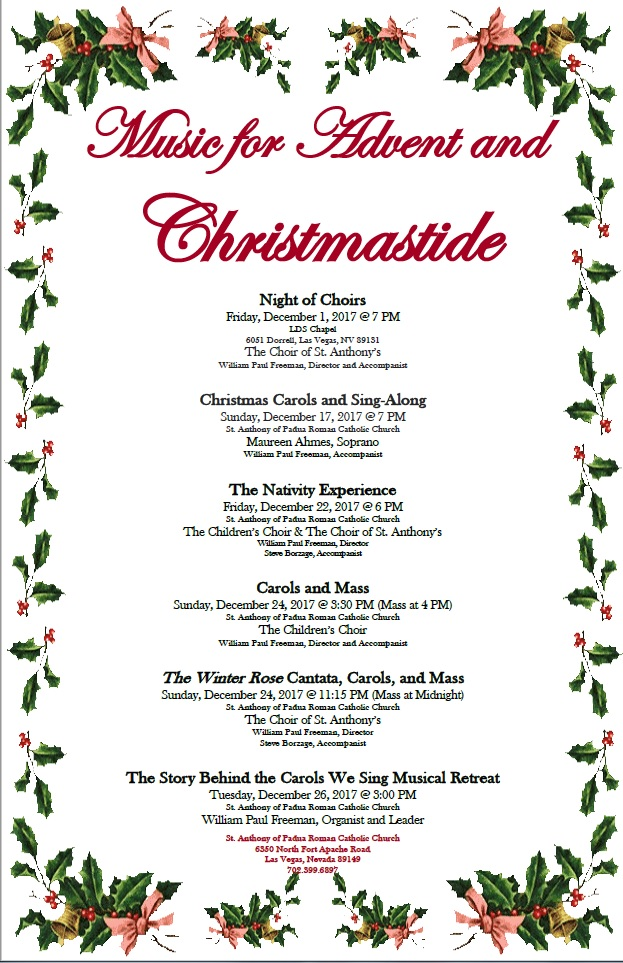 Music for Advent and Christmastide